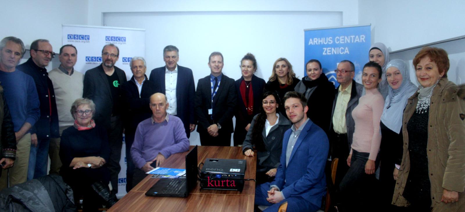 Svečano otvorenje Arhus centra u Zenici 20.12.2019