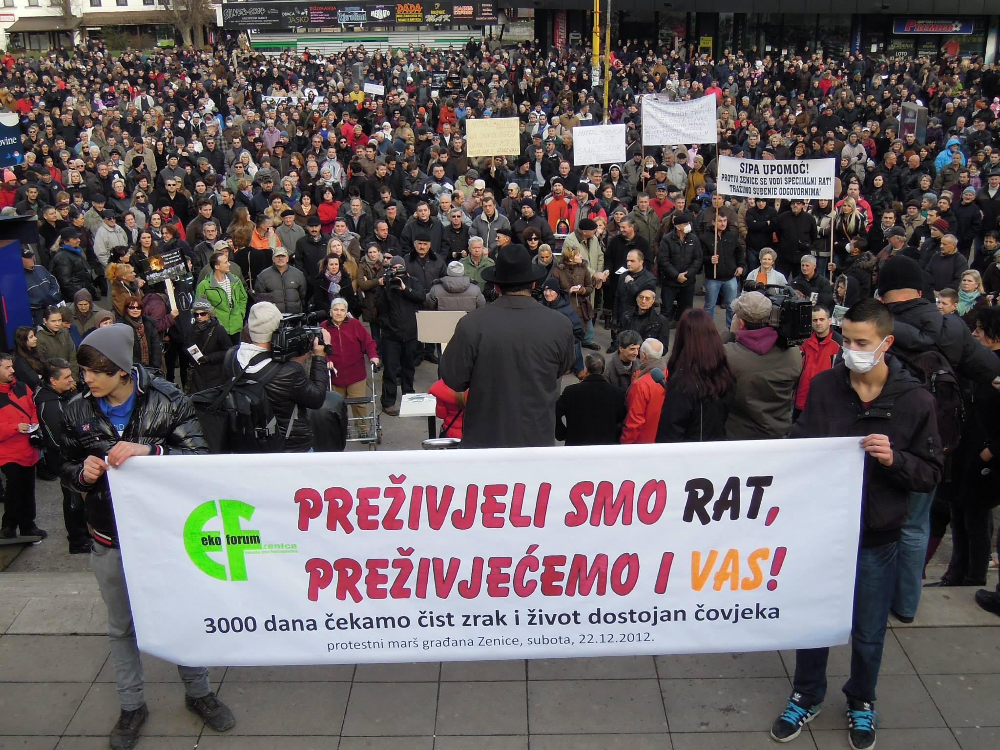 Protestni marš 22.12.2012