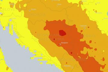 Zagađenje na Balkanu
