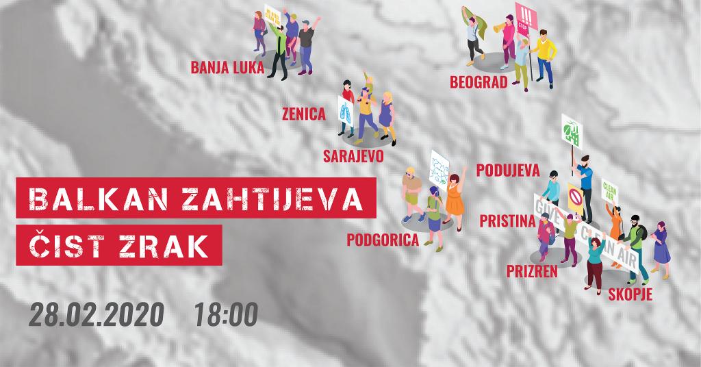 Građanke i građani Balkana PRVI PUT zajedno za životnu sredinu!