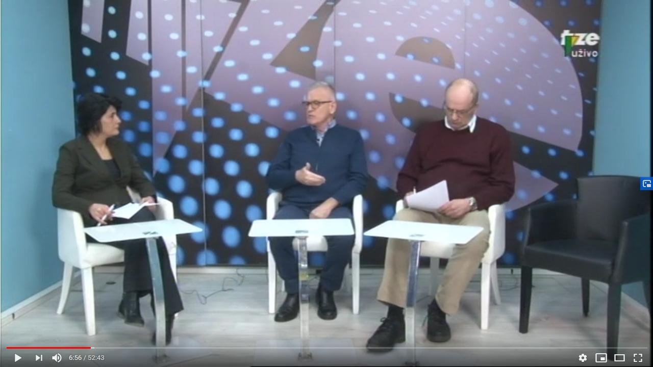 Četvrtkom javno – o zagađenju i zdravlju (TV Zenica 2020)