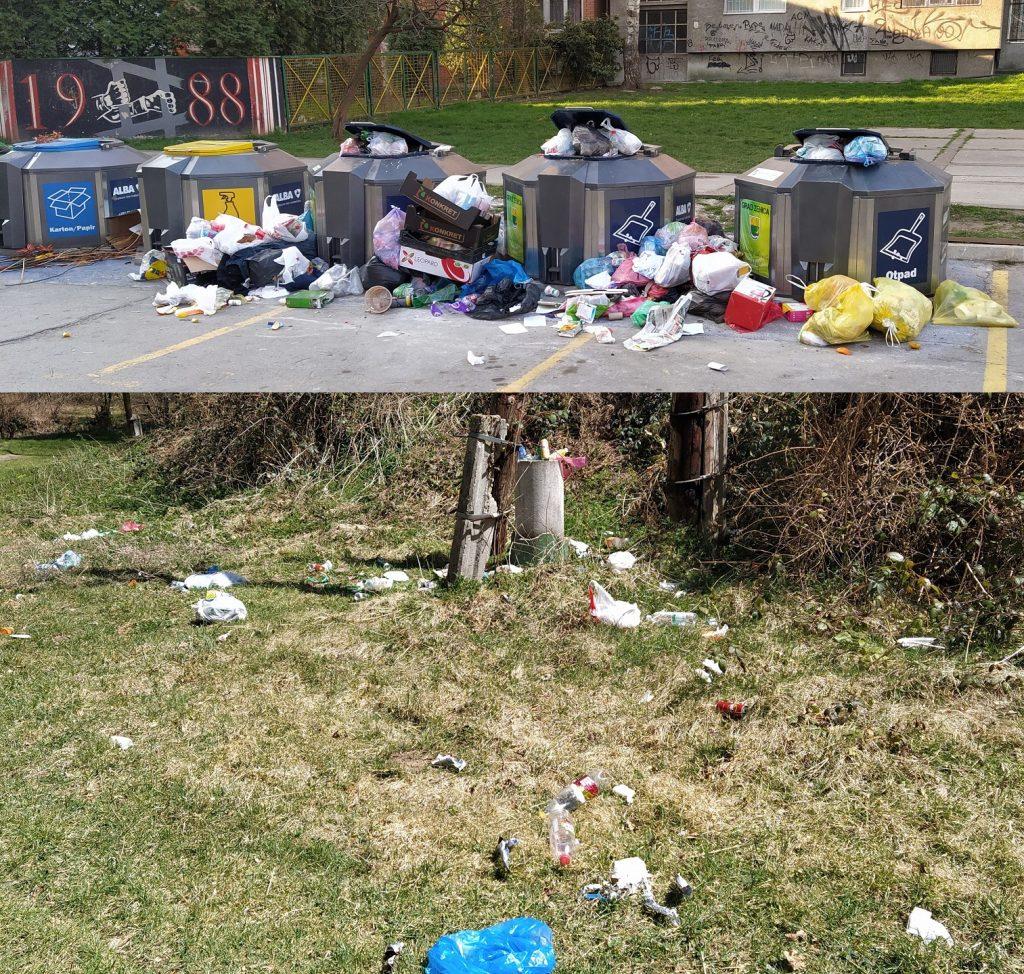 Nismo u stanju upravljati otpadom ni u gradu niti u prirodi