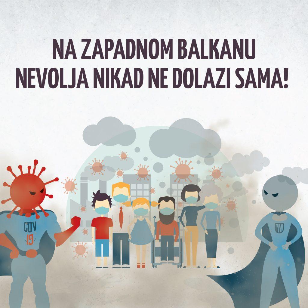 Na Zapadnom Balkanu nevolja nikad ne dolazi sama